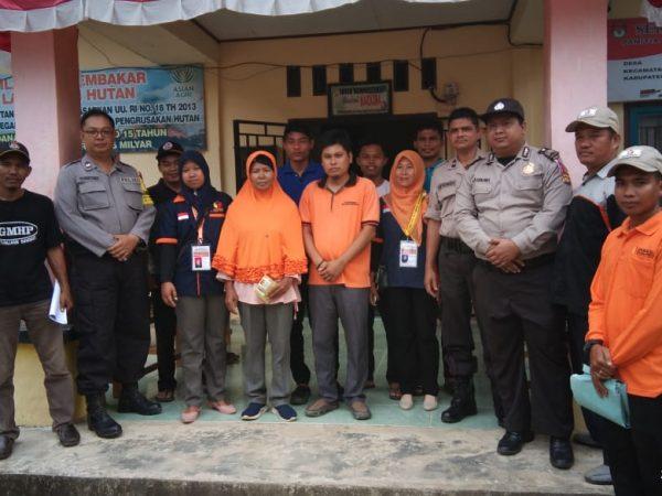 Penyaluran Logistik Pemilu 2019 oleh PPK batang Asam ke PPS Lubuk Lawas