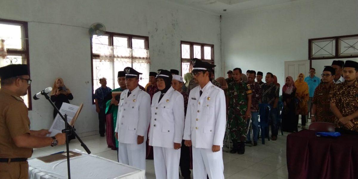Pelantikan Pj. Kades Lubuk Lawas 2019
